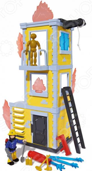 Игровой набор с фигуркой Simba «Пожарный Сэм. Большая тренировочная база»