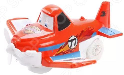 Игрушка музыкальная Наша Игрушка «Авиашоу Самолетик» самолет наша игрушка самолетик с дисками для запуска цвет в ассортименте 3 шт y17032099