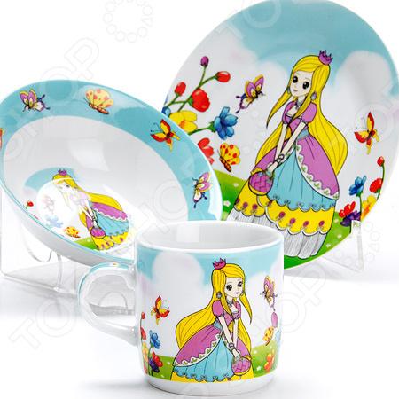Набор посуды для детей Loraine «Принцесса» LR-27342