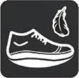 Кроссовки адаптивные женские Walkmaxx Wedge. Цвет: коричневый 12