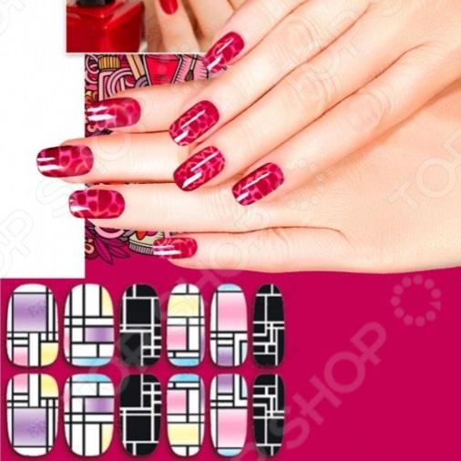 Пленка для дизайна ногтей Bradex «Авангард»