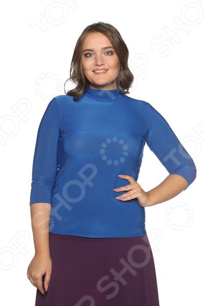 Водолазка Blagof «Цвет настроения». Цвет: васильковый блуза blagof blagof mp002xw0ygn0