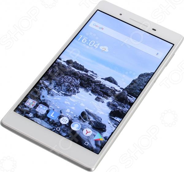 Планшет Lenovo Tab 7 TB-7504X 2Gb 16Gb планшет lenovo tab 4 tb 7304x 7 za330081ru mediatek mt8735d 1 1 1gb 16gb 7 ips wi fi bt 3g lte 2 2mpx android black