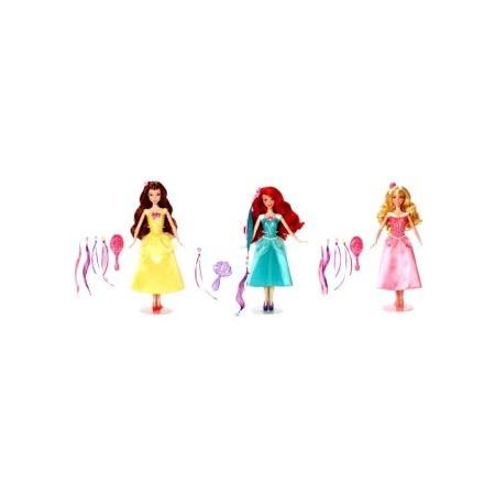 Купить Кукла Mattel «Принцесса. Модные прически с аксессуарами». В ассортименте