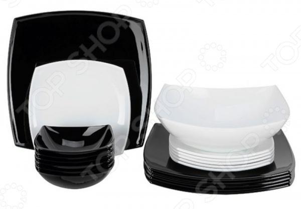 Набор столовый Luminarc Quadrato