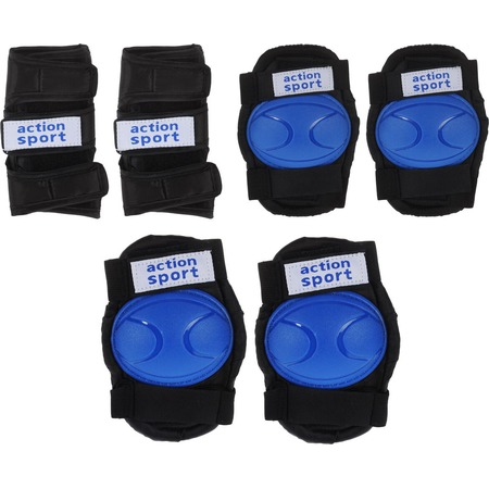 Купить Комплект защиты для роликовых коньков Action PW-316B