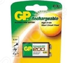Батарейка крона аккумуляторная GP 20R8H батарейка r371 renata sr920sw 1 штука