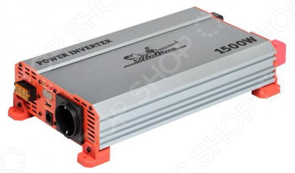 Инвертор автомобильный Airline API-1500-10 инвертор автомобильный airline api 750 04