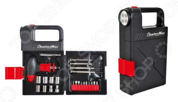 Набор инструментов KomfortMax KF-1024 набор инструмента komfortmax 108 предметов kf 992