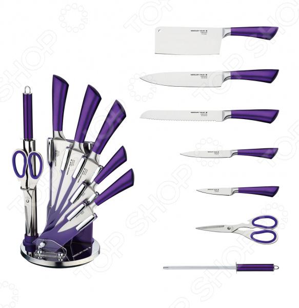 лучшая цена Набор ножей Mercury Haus MC-6154