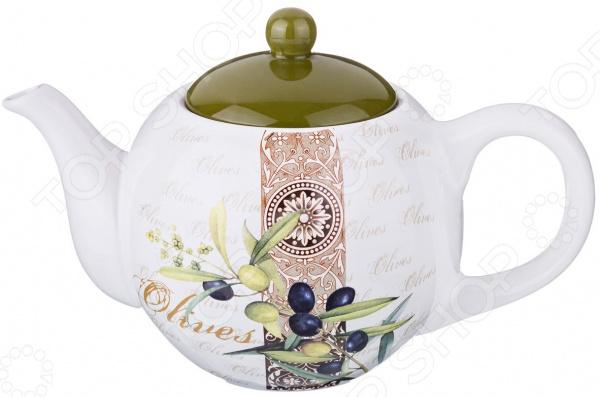 Чайник заварочный Agness «Оливки» 358-1016