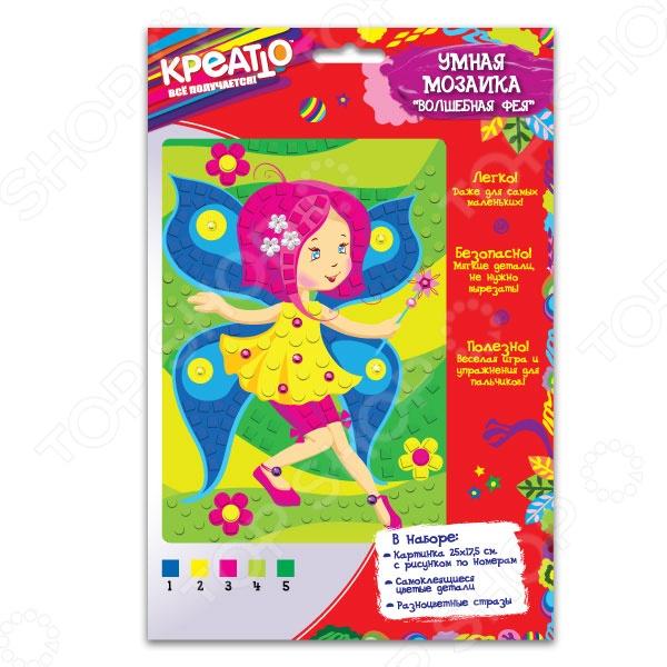 Набор для создания мозаики Креатто «Волшебная фея» набо для творчества вышивка и украшение фея цветов креатто