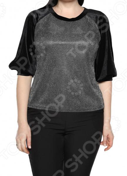 Блуза Лауме-Лайн «Магия красок». Цвет: черный блуза лауме стиль заветное признание цвет черный
