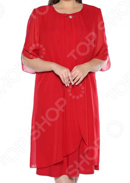 Платье Pretty Woman «История любви». Цвет: красный