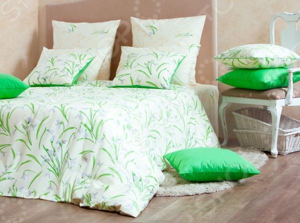 Комплект постельного белья MIRAROSSI Sofia комплект белья mirarossi sofia 2 спальный наволочки 70х70 цвет кремовый зеленый сиреневый