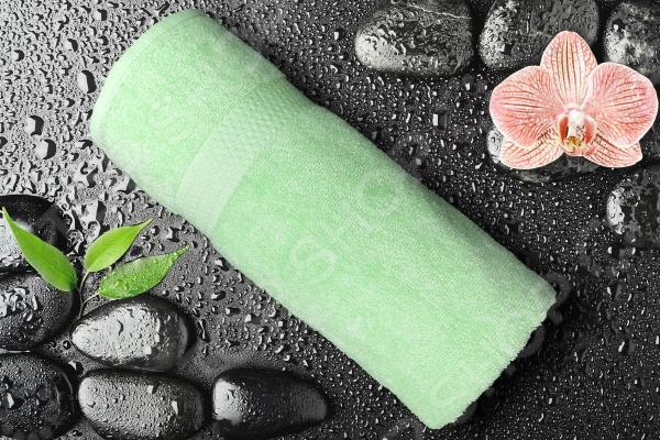 Полотенце махровое Amore Mio GX Classic. Цвет: ментоловый