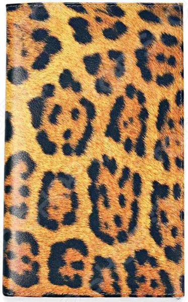 Визитница Mitya Veselkov «Леопардовый принт» визитницы mitya veselkov визитница олени на черном