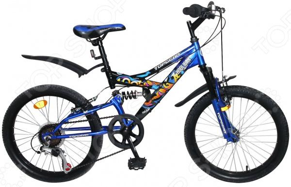 Велосипед горный подростковый Top Gear Hooligan 20208