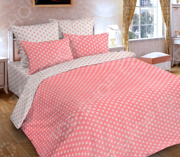 Комплект постельного белья DIANA P&W «Горох розовый»