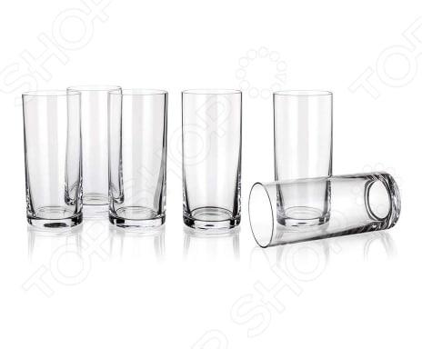 Набор стаканов Banquet Crystal для воды Degustation набор стаканов для напитков salt