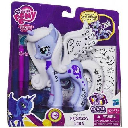 Купить Набор для раскрашивания Hasbro Принцесса Луна «Укрась пони»