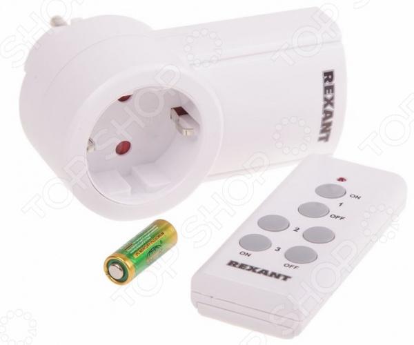 Розетка радиоуправляемая Rexant RX-001 Розетка радиоуправляемая Rexant RX-001 /