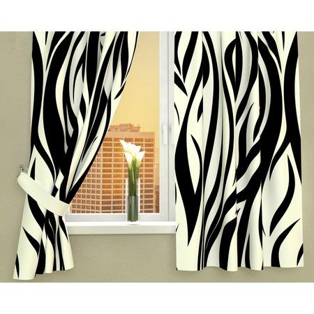 Купить Фотошторы Сирень «Узор-зебра»