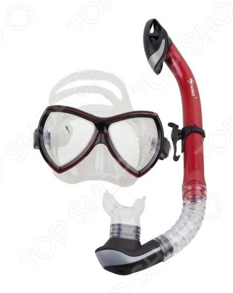 Набор из маски и трубки WAWE MS-1380S57 WAWE - артикул: 876303