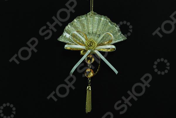 Новогоднее украшение Crystal Deco «Подвеска: веер»
