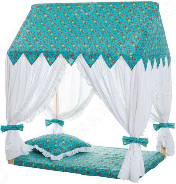 Домик текстильный с пуфиком PAREMO «Дворец Жасмин» цена