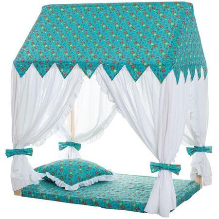 Купить Домик текстильный с пуфиком PAREMO «Дворец Жасмин»