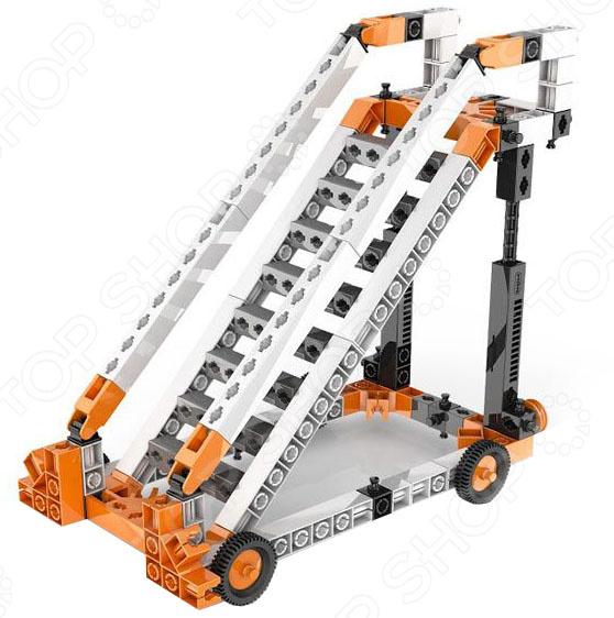 Конструктор механический Engino Discovering Stem «Колеса, оси и наклонные плоскости» конструктор механический engino discovering stem колеса оси и наклонные плоскости