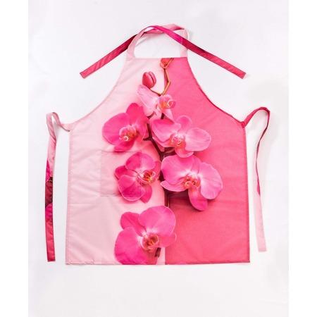 Купить Фартук Сирень «Игра розового цвета»