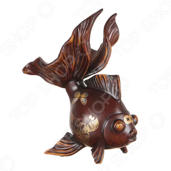 Фигурка декоративная Lefard «Золотая рыбка. Благополучие» 114-039
