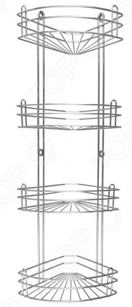 фото Полка для ванны угловая Rosenberg RUS-385026-4, Полки и этажерки для ванной