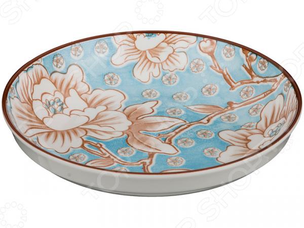 Тарелка десертная Lefard «Цветы»