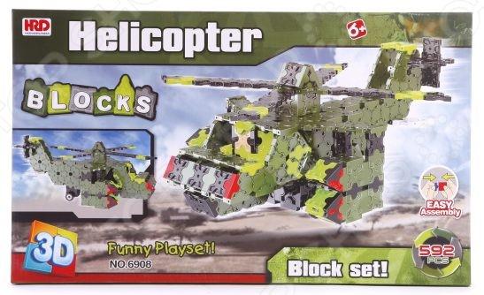 Конструктор 3D Наша Игрушка «Вертолет»