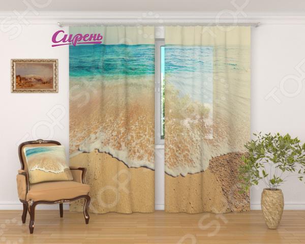 все цены на Фототюль Сирень «Дикий пляж» онлайн