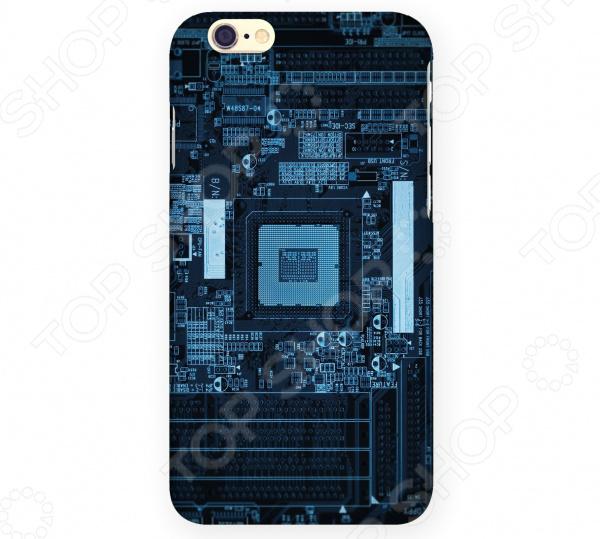 Чехол для iPhone 6 Mitya Veselkov «Микросхема темная» микросхема risym l297d sop20