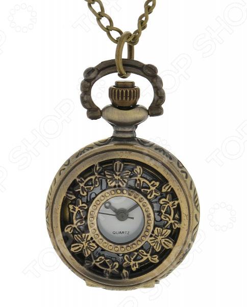 Кулон-часы Mitya Veselkov «Бабочки и бантики»