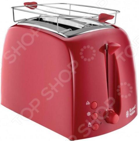 Тостер Russell Hobbs 21642-56 тостер russell hobbs 21642 56 textures red красный