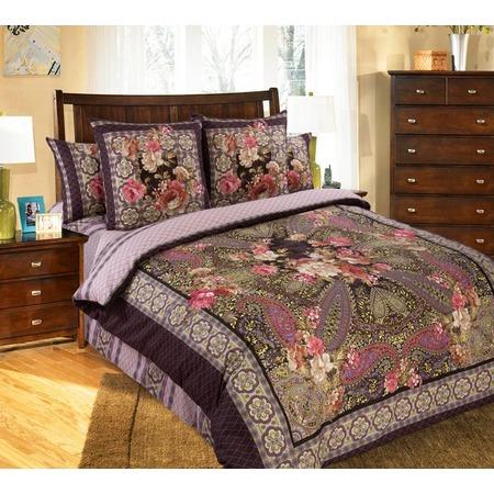 Купить Комплект постельного белья Королевское Искушение «Анабель». Тип ткани: сатин. Евро