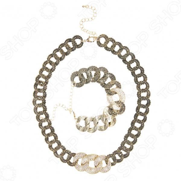 Ожерелье и браслет Laura Amatti «Королева танца»