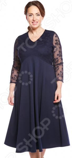 Платье Матекс «Богиня любви». Цвет: синий платье матекс счастливая женщина цвет синий