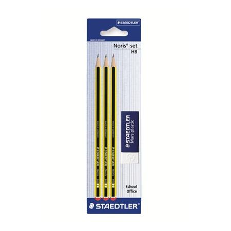 Купить Набор карандашей с ластиком Staedtler 120RBK3D