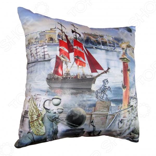 Подушка декоративная Gift'n'Home «Алые Паруса»