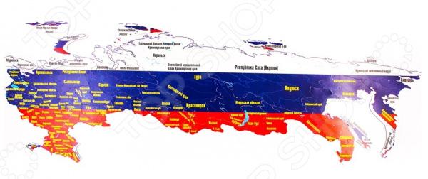 Пазл магнитный Геомагнит «Россия»