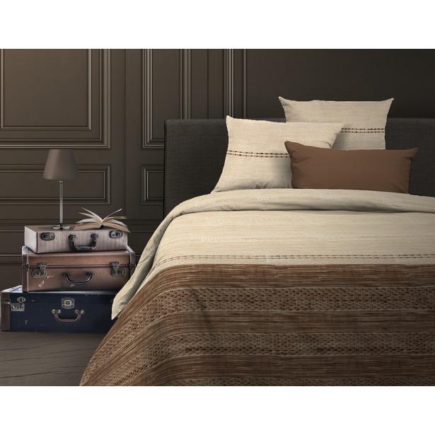 фото Комплект постельного белья Wenge Nature. 1,5-спальный. Цвет: коричневый