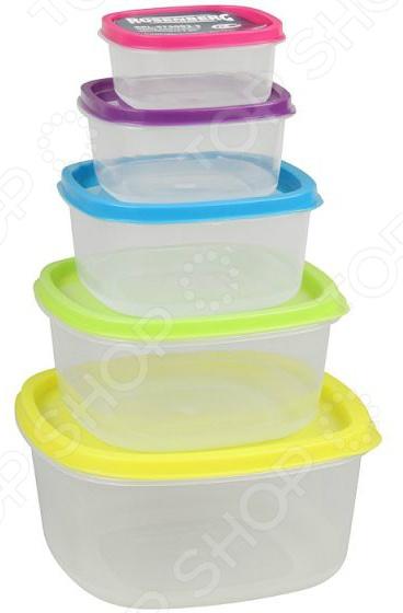 Набор контейнеров для продуктов Rosenberg RPL-575002-5