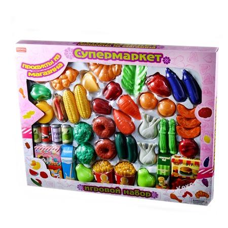 Купить Набор продуктов Zhorya «Супермаркет: продукты из магазина»